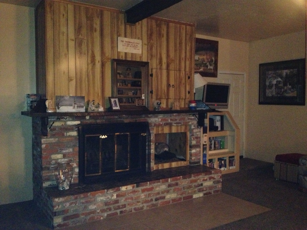 Good Samaritan Rehabilitation Womens Ranch Fireplace