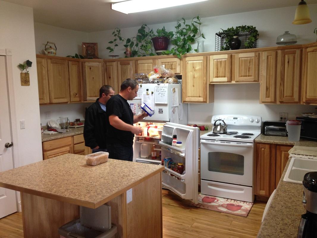 Good Samaritan rehab CdA Sunnyside Kitchen