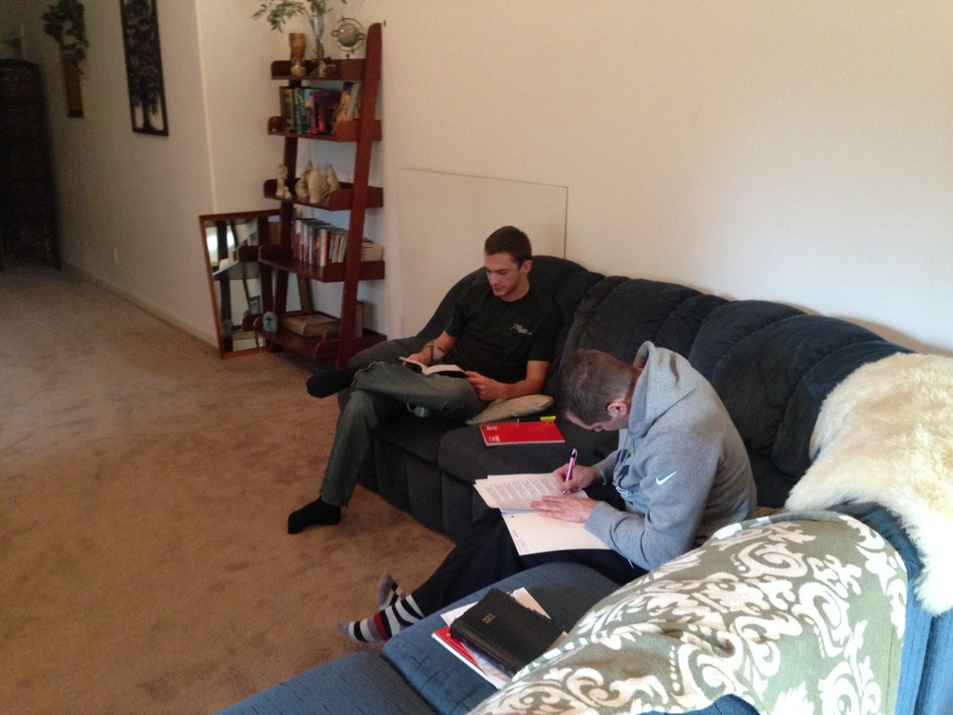 Good Samaritan rehab CdA Sunnyside Living Room